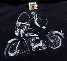 Vtg Elvis Presley Riding Harley-Davidson Tank Top T-Shirt Sportswear Made in USA
