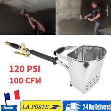 120PSI Mortier Ciment Pulvérisateur Pistolet Mur 4 Jet Professionnel Trémie Stuc