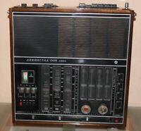 Leningrad 006 Vintage Soviet Radio Receiver Transistor RARE USSR