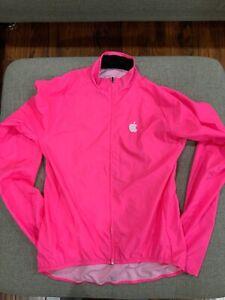 Sugoi Apple Logo Riding Jackets Windbreaker Medium Pink