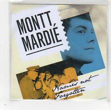 (FW264) Montt Mardie, Names Not Forgotten - 2009 DJ CD