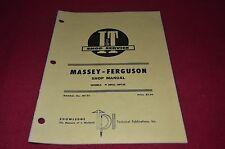 Massey Ferguson 25 130 Tractor I&T Shop Manual DCPA6