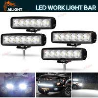 "4x 6INCH 18W LED WORK LIGHT BAR FLOOD OFFROAD ATV FOG TRUCK LAMP 4WD 12V 6"""