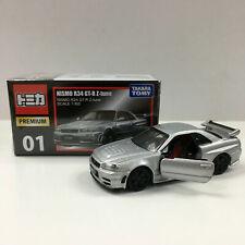 Takara Tomy Tomica Premium 01 Nissan Skyline NISMO R34 GT-R Z-tune 1/62 Bubble