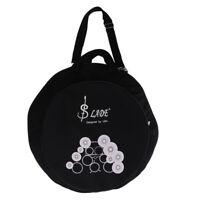 Durable Cotton Hi-Hat Cymbals Storage Bag Soft Box Percussion Accessory