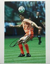 Marco Van Basten signed 10x8 Holland Image G photo UACC Registered dealer