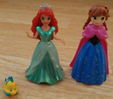 Polly Pocket Disney Princess Magic Clip Dolls Little Mermaid Ariel Frozen Anna