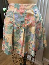 Vintage 80s Floral Skirt