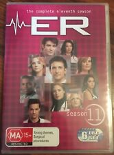 ER THE COMPLETE ELEVENTH (11) SEASON 6 DISC SET R4 PAL NEW PRICE REDUCED