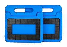 (Lot of 2) Kids Shockproof Foam Case Handle Cover Stand for iPad 1 2 3 4 Mini B