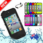 High Quality Waterproof Snowproof Shockproof Cover For Apple iPhone 4S 4 Case AU