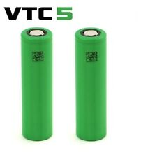 2 x Genuine SONY VTC5 Best Class 18650 30A 2600mAh High Drain Flat UK Batteries