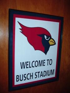 St. Louis Arizona Cardinals Throwback Football Game Room Bar Man Cave Sign