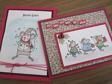 Stampin' Up! Merry Mice Clear Mount Stamp Set ~ NEW ~ CHRISTMAS