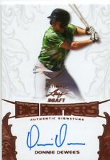 DONNIE DEWEES 2015 LEAF ULTIMATE DRAFT BIG HITTERS BRONZE AUTOGRAPHED ON CARD RC