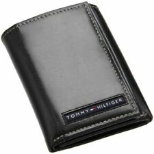 Tommy Hilfiger Cambridge Trifold Men's Wallet - Black