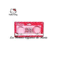 HELLO KITTY - LIQUIDATION - Lot de 2 bracelets avec breloques - Neuf