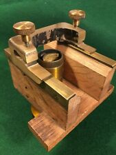 Vintage Microscope Microscopy Brass Cathcart Pattern Design Microtome