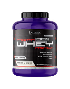 Protein ProStar 100% Whey Protein 5 lbs - Ultimate Nutrition SELECT FLAVOR