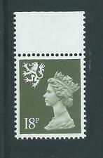 GB unused Scotland SG S59, Scott SMH34 18p deep olive-gray Machin MNH (1)