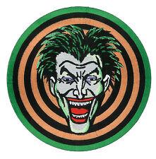 "GIANT 9"" Joker Gang Back Jacket Patch 1989 Batman Movie Dc Comic Marvel dvd"