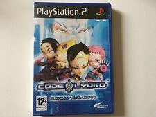 code lyoko PS2 boite et notice