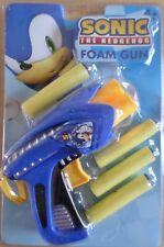 Sega Sonic Mousse Pistolet 22653 Pistolet Automatique 3 Billes