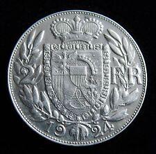 """""""2 Franken 1924"""" Liechtenstein - Silbermünze"""