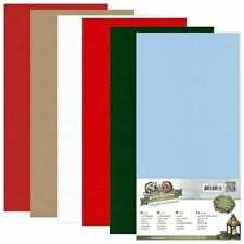 Holly Jolly Leinenpapier-Set Yvonne Creations 13,5 x 27 cm YC-4K-10011