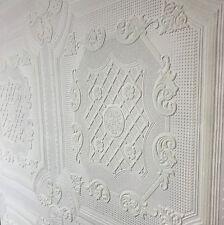 Anaglypta Vinyl Wallpaper Textured Roll Solid White Paintable Modern Victorian
