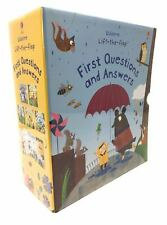 Usborne Lift-the-flap, First Questions and Answers 5 books box set  collection