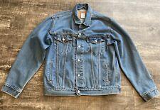 Vintage Levi's Trucker Jacket 70507-0389  Denim Jean Jacket  Large   Made in USA