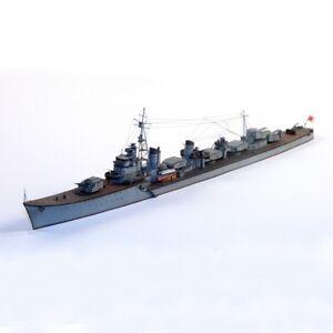 1:400 Scale 3D Paper Model Japanese Destroyer Shimakaze Ship Boat DIY Puzzle Toy