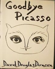 VG 1974 HC DJ First Edition Goodbye Pablo Picasso by David Douglas Duncan NICE