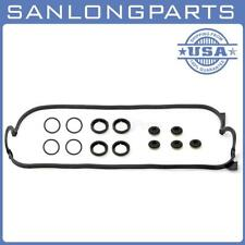 Fits 90-97 2.2 HONDA ACCORD F22A F22B Valve Cover Gasket Kit OE Repl