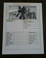 Original hand drawn Robocop 2 storyboards from the archives of Phil Tippett