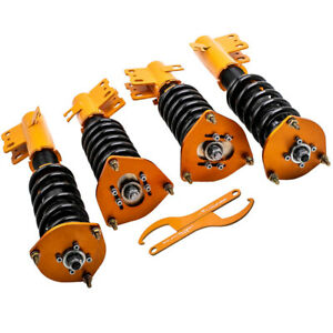 Racing Coilovers for Subaru Forester 98-02 2.5L Adj. Height Suspension Spring