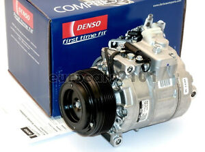 New! BMW Rolls-Royce Denso A/C Compressor and Clutch 471-1262 64526910461