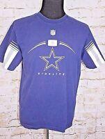 Dallas Cowboys Sideline Men's Large Short Sleeve T Shirt NFL Football Star L