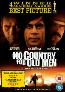 No Country For Old Men (DVD) (2008) Javier Bardem - Free postage