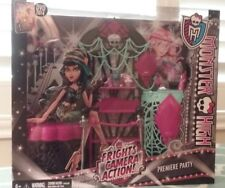 Monster High Frights Camera Action Premiere Party - Mattel - Brand New