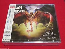 IRON MAIDEN - LIVE AT DONINGTON 1992 - JAPAN 2 CD - WPCR-80025/6