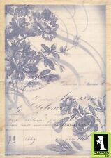 FLORAL Collage 60-00679  Inkadinkado Rubber Stamp ~ w/m  Free Shipping  NEW