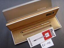 Vintage Aurora Hastil 925 Vermeil Fountain Pen ~ NEW (CL119)