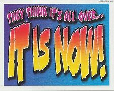 N°V THEY THINK IT'S ALL OVER... IT IS NOW ! STICKER MERLIN PREMIER LEAGUE 1997