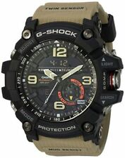 Casio G-SHOCK GG1000-1A5 Mudmaster Twin Sensor Compass Beige 200m Men's Watch