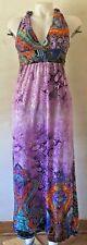 INDIA BOUTIQUE Sundress Multi-color Stretch Beach Dress Size L