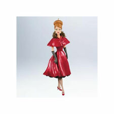 Hallmark Ornament 2011 Ravishing in Rouge Barbie Doll Fashion Model QXI2859