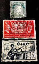 Ireland selection x3 VFU stamps circa 1922-1939