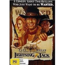 LIGHTNING JACK  DVD ( PAUL HOGAN )BRAND NEW AND SEALED( COMEDY)